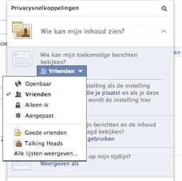 Nieuwe privacy-instellingen op Facebook | Apestaartjaren | Social Media & sociaal-cultureel werk | Scoop.it