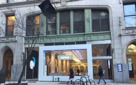Découvrez le magasin Normal qui révolutionne la vente d'écouteurs à New York #impression3D | FabLab - DIY - 3D printing- Maker | Scoop.it