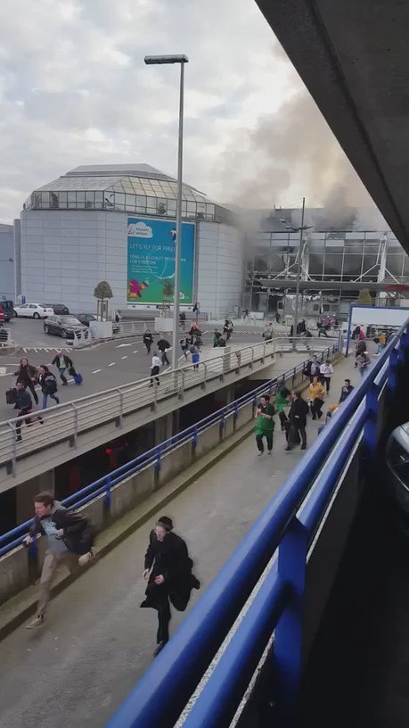 Two explosions at Brussels airport | AIR CHARTER NEWS | Scoop.it