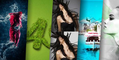 35 effets incroyables à réaliser avec les scripts actions de Photoshop | Au fil du Web | Scoop.it