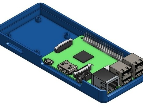 Raspberry Pi 2 and Relay Board Enclosure for Octoprint by Help3d | Raspberry Pi | Scoop.it