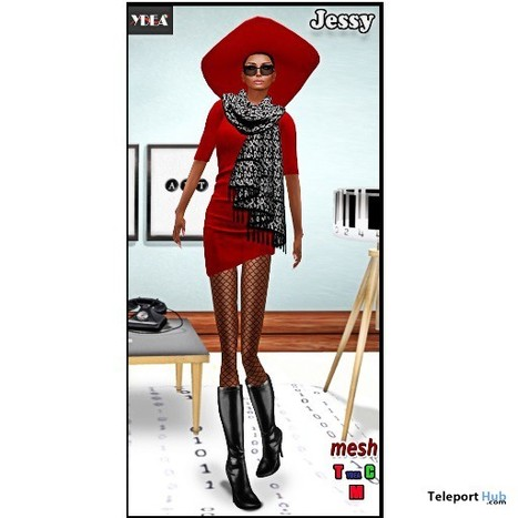 Jessy Complete Outfit Gift by Ydea | Teleport Hub - Second Life Freebies | finding freebies&groupgifts | Scoop.it