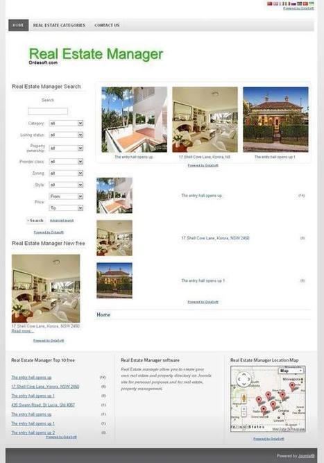 Joomla Real Estate Template - Download free Joomla Real Estate Template | FREE JOOMLA TEMPLATES | Scoop.it