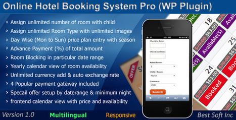 Online Hotel Booking System Pro (WordPress Plugin) | Best Soft Inc | Scoop.it