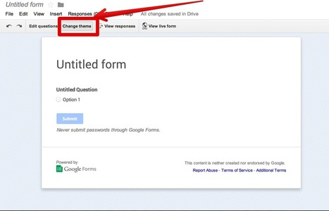 Google Forms released two new interesting features | Skolbiblioteket och lärande | Scoop.it