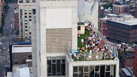 Exploring New York's Most Hidden Spaces: Its Rooftops | New York City Chronicles | Scoop.it