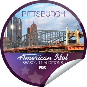 Matt Porter's American Idol 2012 Auditions: Pittsburgh Sticker on GetGlue | American Idol | Scoop.it