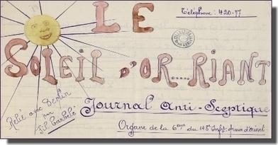 Les journaux de tranchées sur Internet - Le Blog Généalogie - | Ca m'interpelle... | Scoop.it