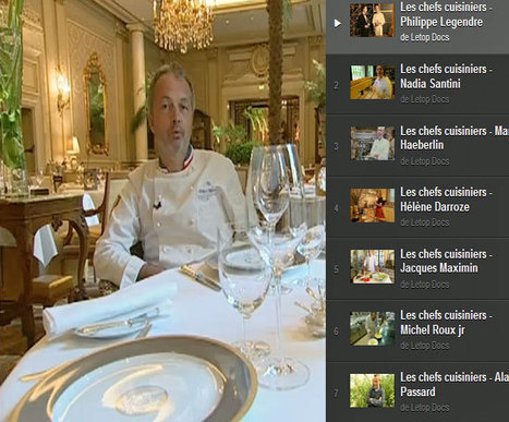 Autour de la gastronomie : Dix portraits de grands chefs | Français Langue étrangère | Scoop.it