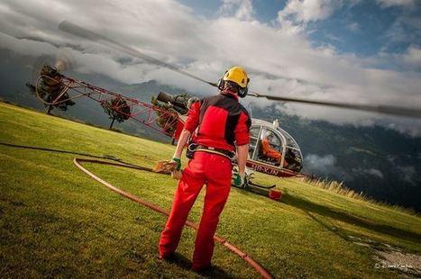 Air Glaciers: équipage en traitement à Flanthey | Heli Daily | Scoop.it