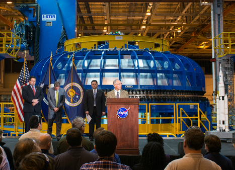NASA Administrator Tours Facility Where New Deep Space Rocket is Being Built | Manufacturing In the USA Today | Scoop.it