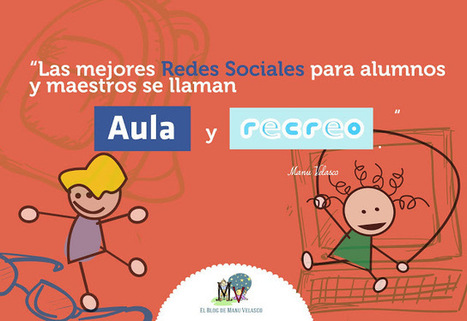 Redes sociales: Aula y recreo | Educacion, ecologia y TIC | Scoop.it