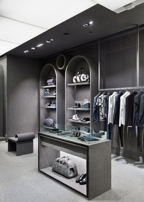 New Viktor & Rolf Store In Paris   In the World of Design   Scoop.it