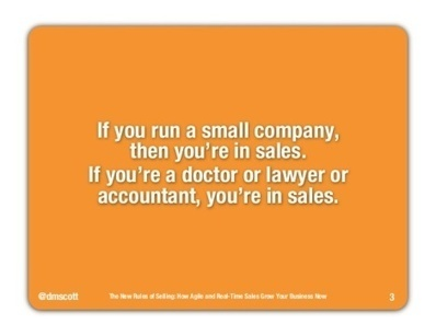 The New Rules of Selling [SlideShare] | Comunicación, Brand Journalism y RRPP | Scoop.it