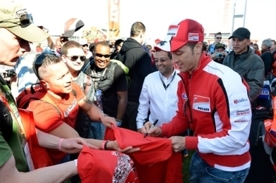 Ducati riders qualified in 2nd and 4th row   Ducati news   Scoop.it