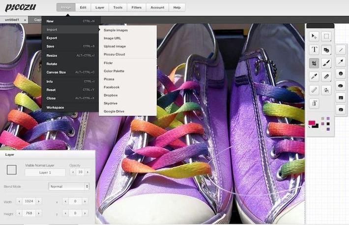 Picozu: une excellente application Web pour retoucher vos photos | TIC et TICE mais... en français | Scoop.it