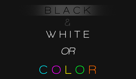 Determining If A Photo Should Be Left In Color Or Converted To Black And White | Fstoppers | HDSLR | Scoop.it