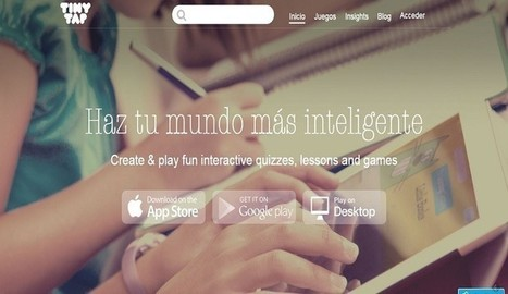 TinyTap introduce una nueva forma de crear juegos didácticos - Nerdilandia | Educación y TIC | Scoop.it