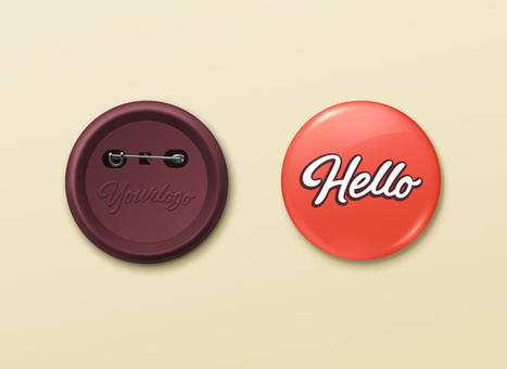 Pin Button Badge MockUp   GraphicBurger   Tutoriales   Scoop.it
