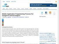 Mobile Application Programming Process For Designers and Developers | Bazaar | Scoop.it