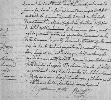 Jeanne Desroches ou une recherche généalogique avec Google | Rhit Genealogie | Scoop.it