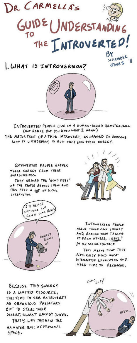 After Seeing This Brilliant Poster, I Now Totally Understand Introverted People. | Life @ Work | Scoop.it