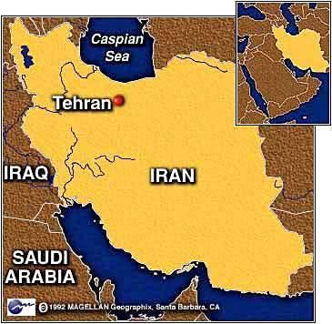 Map of Tehran, Iran | Persepolis: Womens Rights | Scoop.it