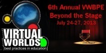Virtual Worlds Best Practices in Education 2013 (VWBPE '13)   eLearning 2.0   Scoop.it