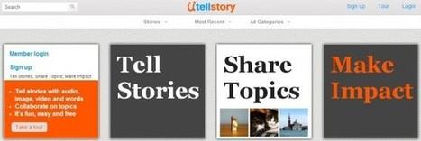 Ütellstory, creando y diseñando presentaciones con audio | Recull diari | Scoop.it
