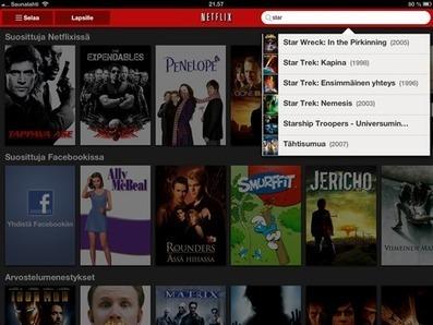 Netflix: Katso elokuvia ja sarjoja Android- ja iOS-laitteilla ... | Hipaisu | Scoop.it