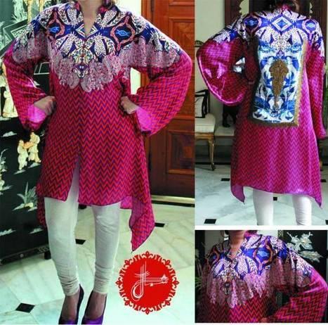 European Fashion Spring Dresses 2014 | Shamaeel Ansari | www.StyloStyle.com | Stylestylo | Scoop.it