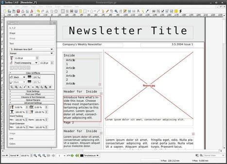 Scribus - Σχεδίαση και δημιουργία εντύπων | Freeware Tips | Scoop.it