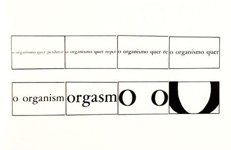 La lettre, le mot, l'image... la typoésie | Design + Epublishing + Ebook + Graphisme | Scoop.it