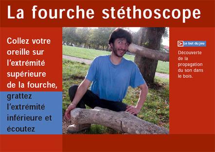 Fourche stéthoscopique | DESARTSONNANTS - CRÉATION SONORE ET ENVIRONNEMENT - ENVIRONMENTAL SOUND ART - PAYSAGES ET ECOLOGIE SONORE | Scoop.it