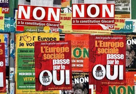 29 mai 2005 - Le peuple français dit non au traité constitutionnel - Herodote.net   Critique du changement   Scoop.it