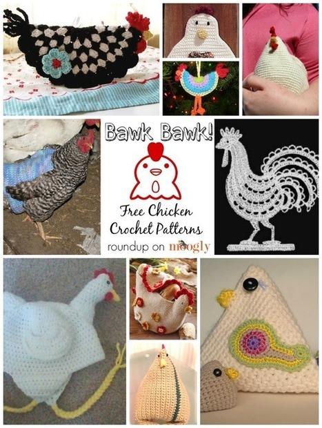 Bawk Bawk Chicken Lovers! 10 Free Chicken Crochet Patterns! - moogly | Free Crochet Patterns | Scoop.it