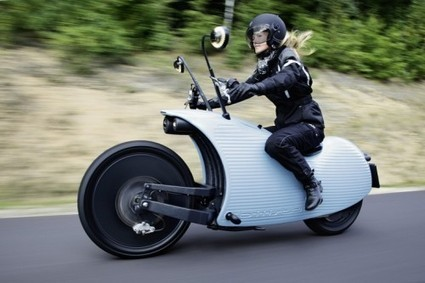 Johammer Electric Motorcycle Is A Wonderful Kind Of Weird - Gas 2.0 | Electric Motorcycle | Scoop.it