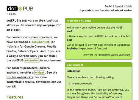 How to convert Web pages to e-books | Techy Stuff | Scoop.it