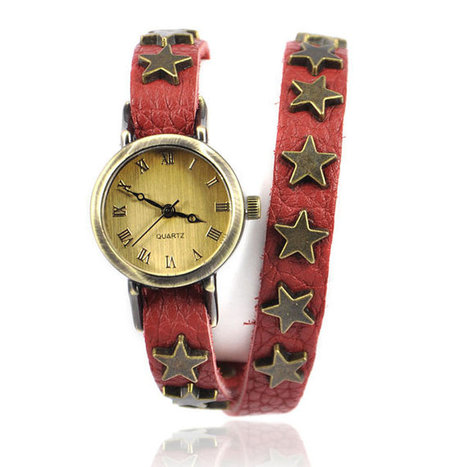 Wrap Watch with Star Studs Belt | Fashion for all man kind | Scoop.it