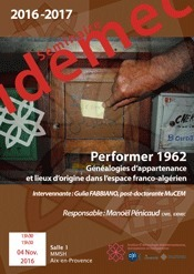 Idemec - UMR 7307 - Séminaire de l'Idemec | Newsletter @ Idemec | Scoop.it