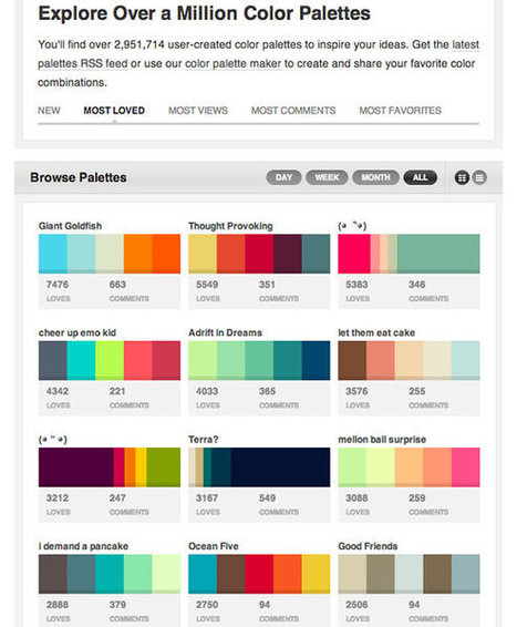 Color: Links, Books & Tools to Make your Life Easier | Tips | Interior Design | Scoop.it