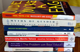 Reading and Gender: A Brief Guided Tour of my MA Dissertation ~ things mean a lot | Boys and Reading | Scoop.it