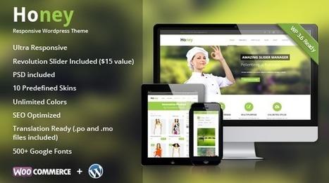 Honey | Responsive Multipurpose Theme - Wpthemetuts | Latest Wordpress Themes | Scoop.it