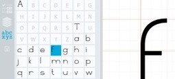 Glyphr Studio. Creer ses propres typos en ligne - Allweb2 - Les Outils du Web | Les outils du Web 2.0 | Scoop.it