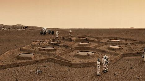 Could Future Astronauts 3D Print Habitats Using Mars and Moon Soil? | 3Dprinting | Scoop.it