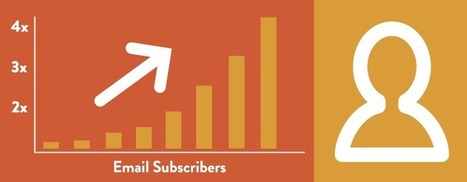 Ways To Build A Massive Email Subscribers List | Digital Marketing News | Scoop.it