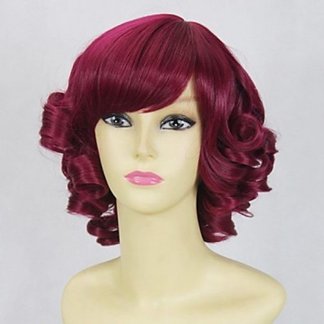 Gothic Cosplay Wig|Rose Cosplay Wig |Curly Bob 35cm Cosplay Wig|Gothic Rose Curly Bob 35cm Lolita Cosplay Wig | Cosplay Costumes | Lolita & Uniform Cosplay | Zentai Suits Cosplay | Scoop.it