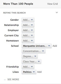 Facebook Graph Search: Opportunities for College Campuses | Academic Tech | Scoop.it