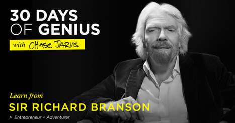 30 Days of Genius: Sir Richard Branson | Change Champions | Scoop.it