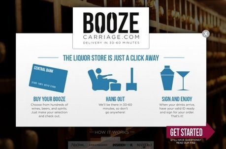If you lead a customer to Booze Carriage, he will definitely drink. | eCommerce News | Scoop.it